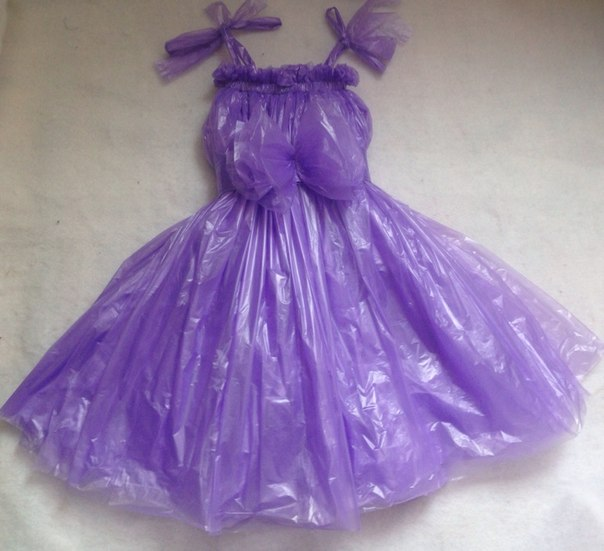 Платья из клеёнки